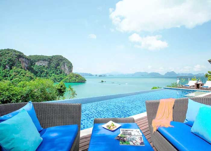 Wellnessresort met veel yoga in Thailand