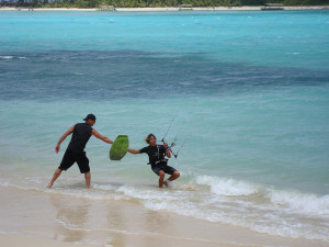 Kite surf les op Lanzarote