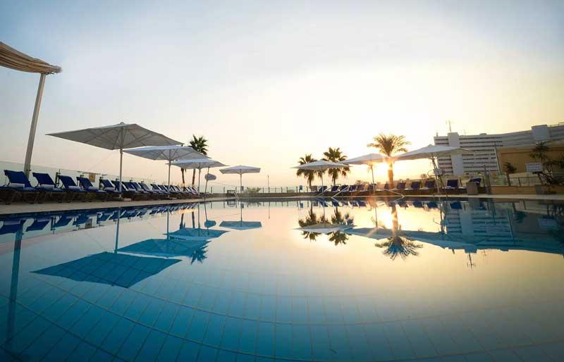 Diverse kuurhotels rond de Dode Zee