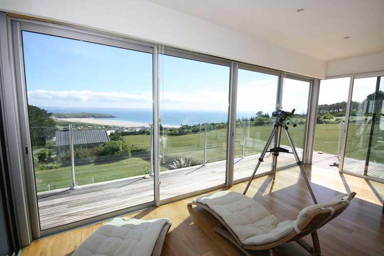 Luxe architectonische vakantievilla met privé-zwembad in Bretagne