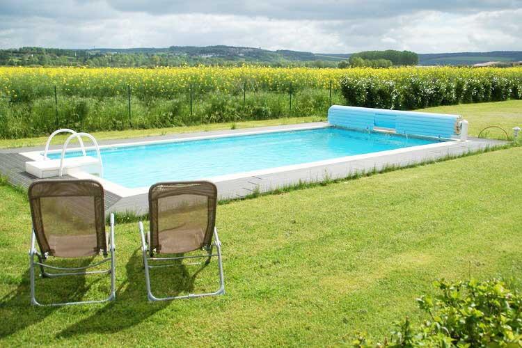 Privé-zwembad bij deze vakantievilla in Noord-Frankrijk, wellnessvakanties