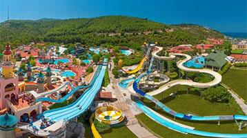 Hotel met groot waterpark in Turkije