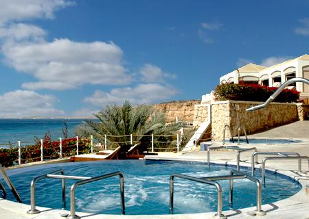 Gezinshotel met uitgebreide spa in Egypte