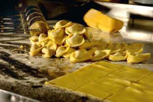 Eigen gemaakte pasta
