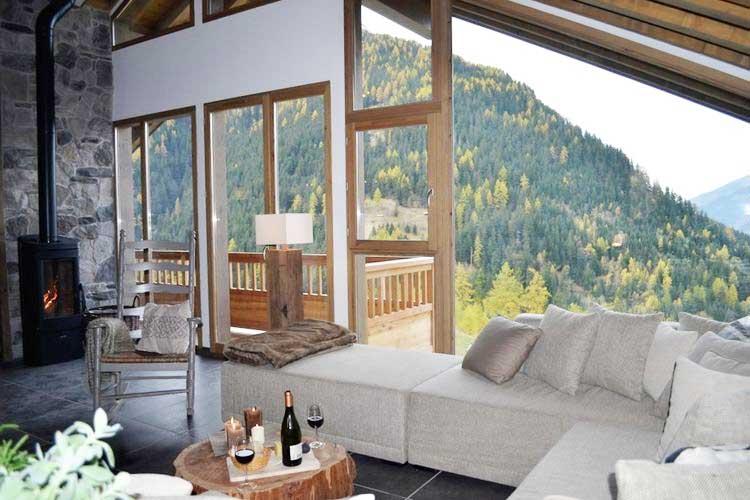 Franse moderne vakantievilla in de bergen, voor een heerlijke wellnessvakantie!