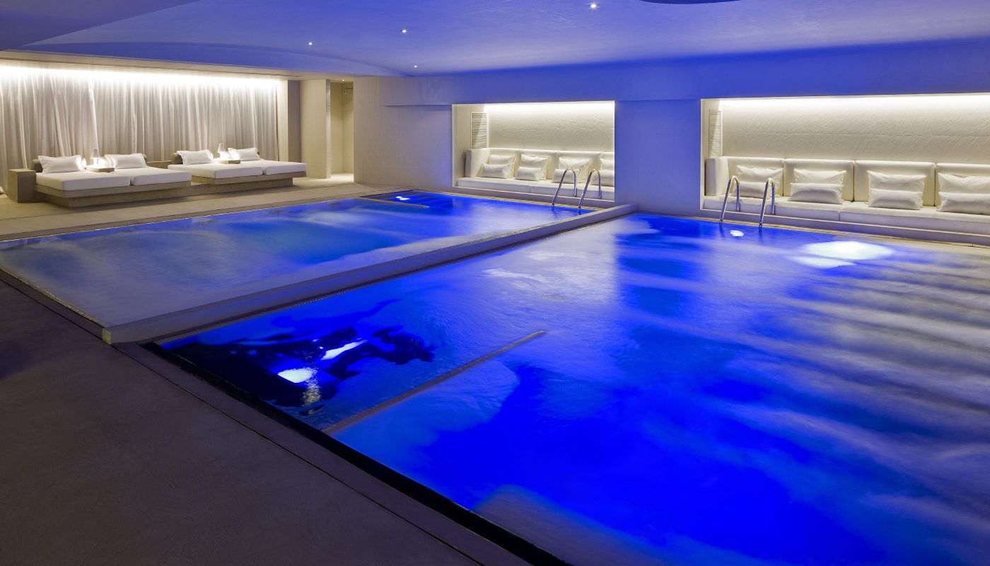 Prachtige spa in het hotel