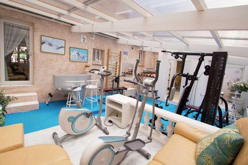 Vakantievilla Zuid-Frankrijk met eigen gym
