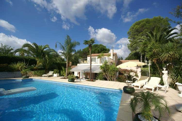Franse vakantievilla Cote d'Azur met privé-sauna en privé-zwembad