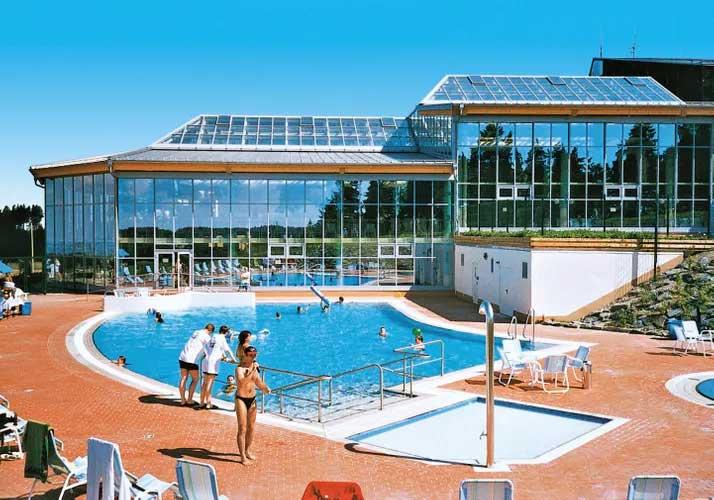 Betaalbaar vakantiepark in Duitsland met wellness en veel zwembaden.