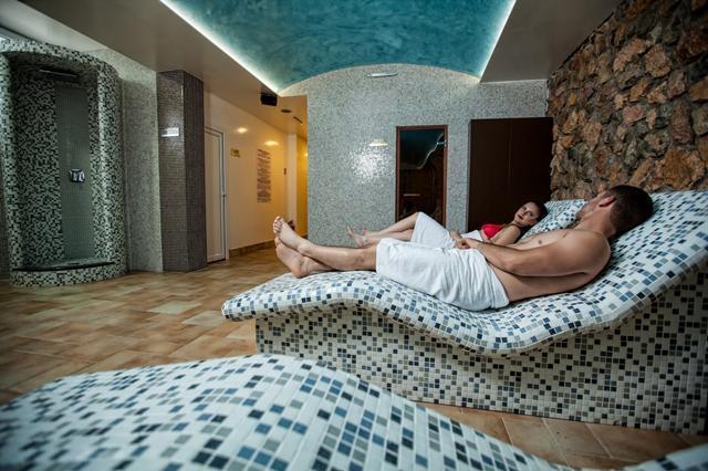 Sauna in hotel in Macedonië