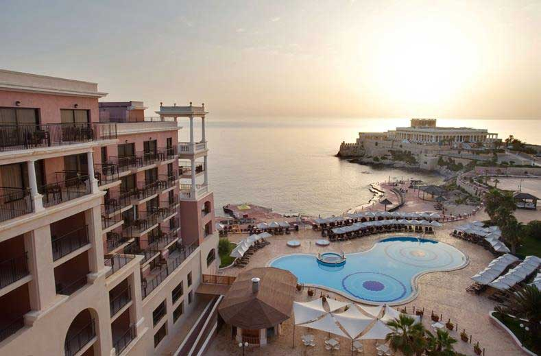 Prachtig wellnesshotel op Malta aan zee