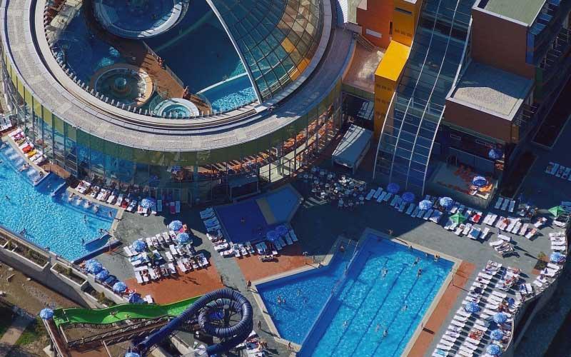 Aquapark en wellness bij dit hotel, resort in Slovenië