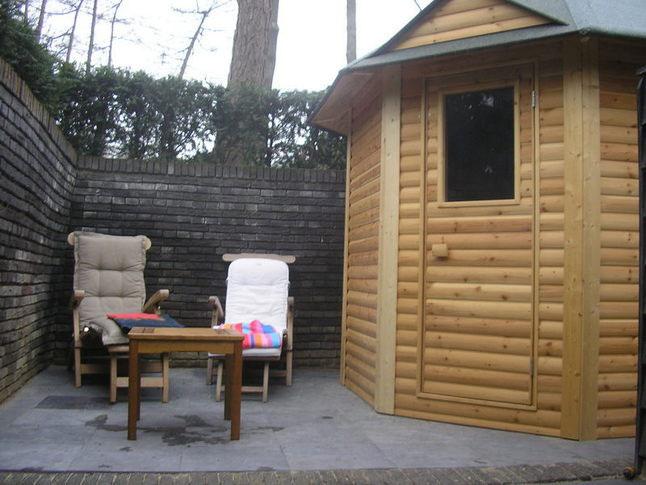 Finse sauna bij vakantievilla op de Veluwe