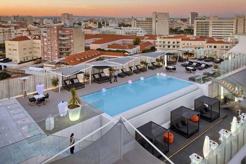 Wellnesshotel met zwembad in Lissabon