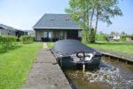 Luxe vakantiehuis aan het water, met sloep!