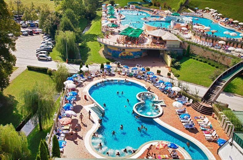 Kuuroord en vakantiepark met wellness in Slovenië