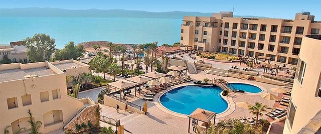 Wellnesshotel in Jordanië bij de dode zee, met medisch centrum