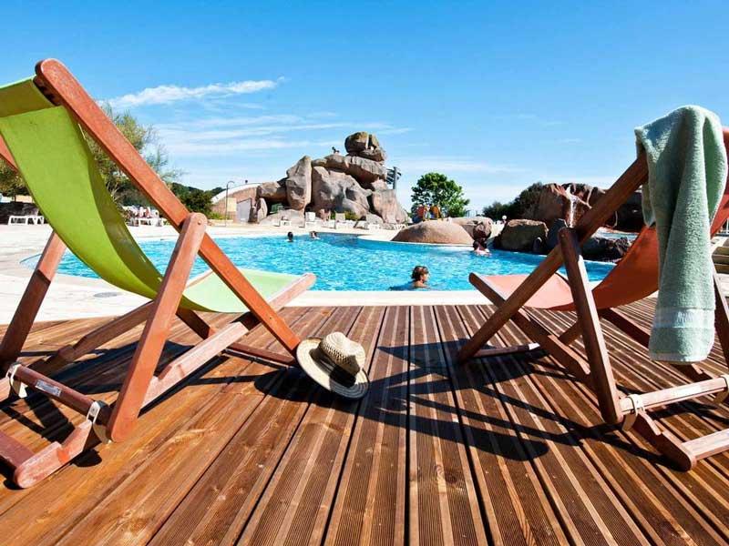 Franse gezinscamping met spa en veel zwembaden