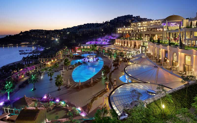 Luxe wellnesshotel in Bodrum Turkije