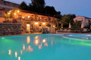 Vakantievilla met zwembad en wellness in Italië