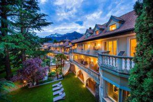 Luxe wellnesshotel in Italië