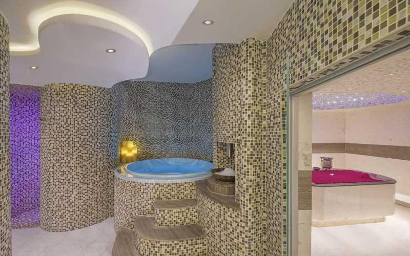 Grote spa en wellnesscenter bij dit hotel in Dubai, ook voor een wellnessbreak!