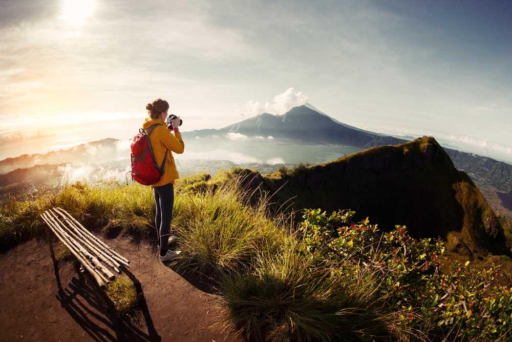 Bezoek Batur op Bali, Indonesië