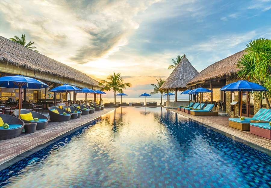 Hotel op Bali met droomzwembad