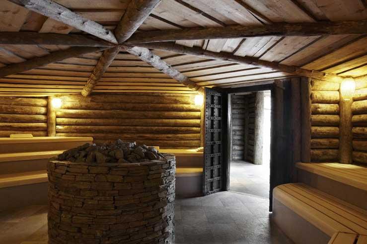 Sauna met hotel, bij Fort Resort Beemster