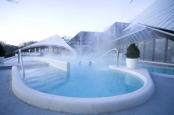 Wellnesshotel met grote spa vind je bij Thermae 2000