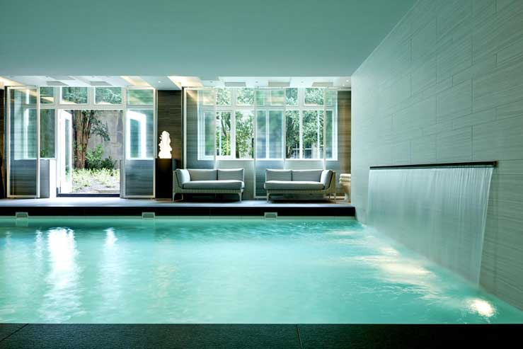 Luxe hotel met wellnesscentrum in Amsterdam