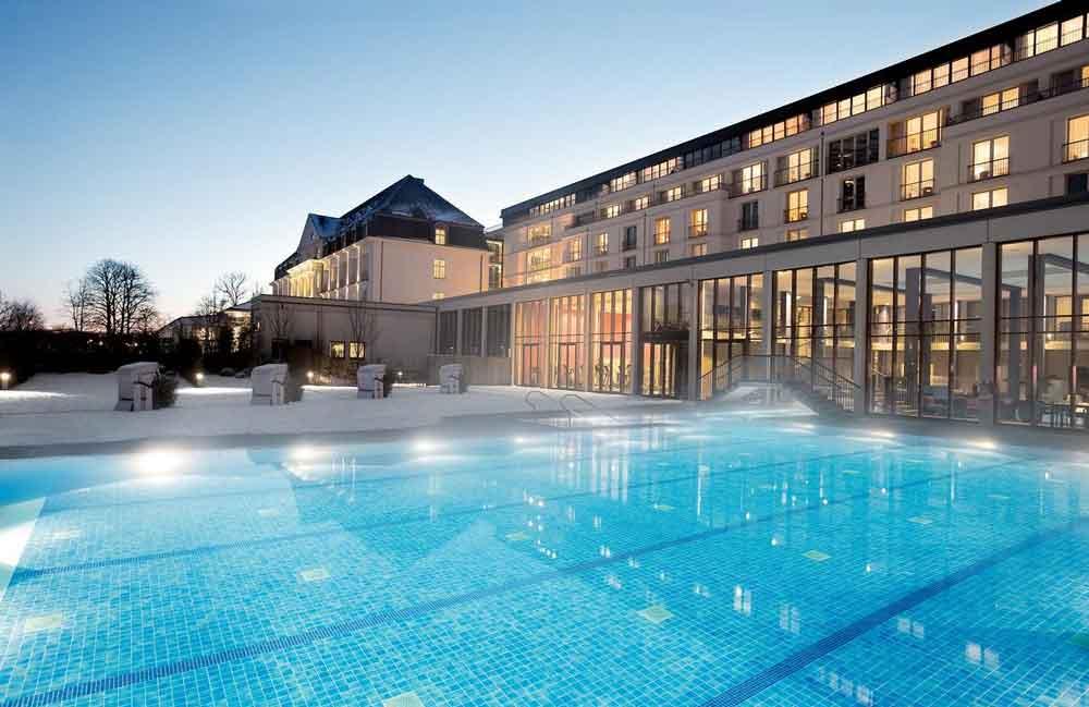 3 Hotels met extra grote spa's in Duitsland