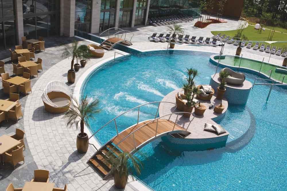 Hotel met spa en kooroord Hongarije