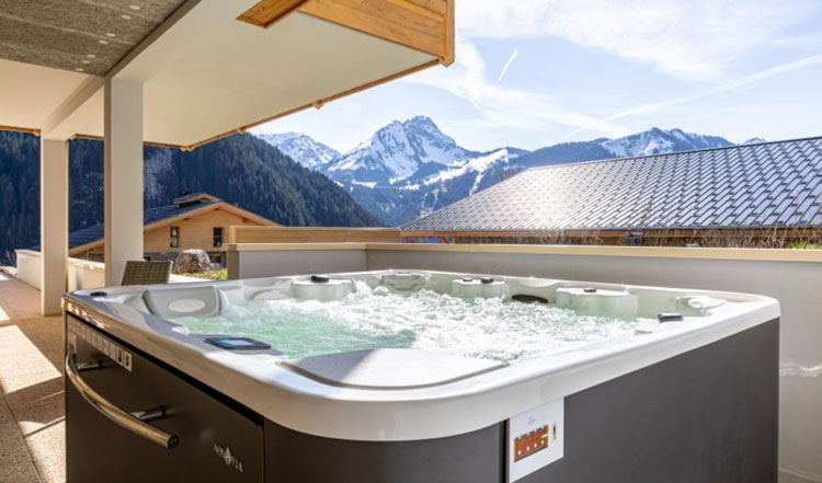 Luxe wintersport chalets Franse Alpen